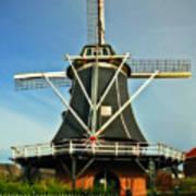 Dutch Windmill Art Print