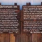 Dutchman's Inn Art Print