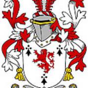 Dwyer Coat Of Arms Irish Art Print