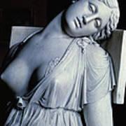 Dying Lucretia  Art Print