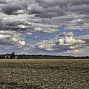 Dynamic Farmland Landscape Art Print