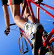 Dynamic Racing Cycle Art Print