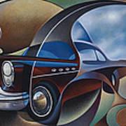 Dynamic Route 66 Art Print