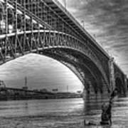 Eads Bridge Art Print
