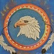 Spirit Of Sacred Healing - Mi Gi Si' Art Print