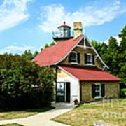 Eagle Bluff Lighthouse Art Print