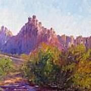 Eagle Crags Art Print