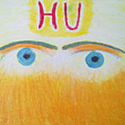 Eagle Eyes Of Love Art Print