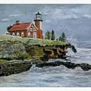 Eagle Harbor Lighthouse Art Print