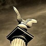 Eagle In Stone Art Print
