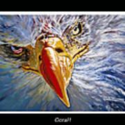 Eagle Oorah Art Print