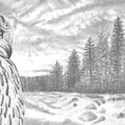Eurasian Eagle-owl Art Print