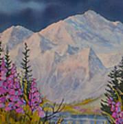 Eagle Peak II Art Print