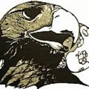 Eagle Planet Art Print