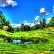 Eagle River Golf Course Art Print