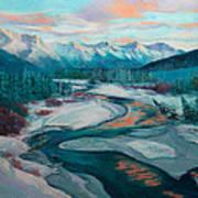 Eagle River Solstice Art Print