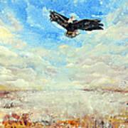 Eagles Unite Art Print