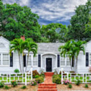 Beautiful 1940 South Florida Home Art Print