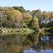 Early Fall In Uw Arboretum Art Print