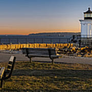 Early Morning At Bug Lighthouse Art Print
