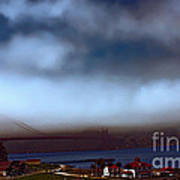 Early Morning At The Golden Gate Art Print