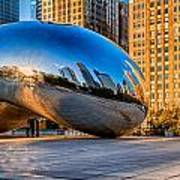 Early Morning Bean In Chicago Art Print