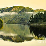 Early Morning Reflections Art Print by Robert Bales