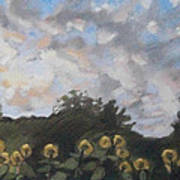 Early September Dawn Art Print by Grace Keown