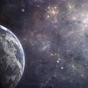 Earth Planet Art Print