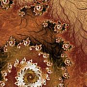 Earth Rhythms Art Print by Heidi Smith