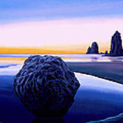 Earth Sunrise Art Print