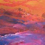 Earth's Canvas Art Print