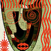 Earthy Woman Art Print