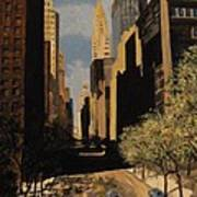East 42nd Street Art Print
