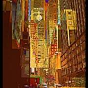 East 45th Street - New York City Art Print