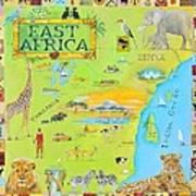 East Africa Art Print