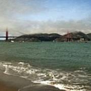 East Beach And Golden Gate Art Print