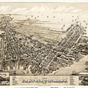 East Boston 1879 Art Print