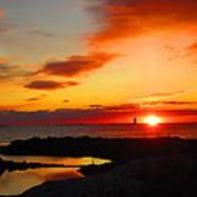 East Coast Sunrise  Art Print