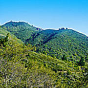 East Peak Of Mount Tamalpias-california Art Print