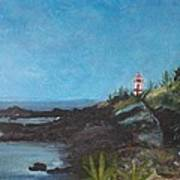 East Quoddy Head Lighthouse Art Print