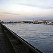 East River Vista 1 - Nyc Art Print