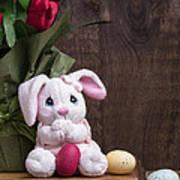 Easter Bunny Art Print by Edward Fielding