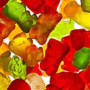 Easter Bunny Gummies 2 A Art Print