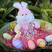 Easter Card Art Print