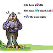 Easter Haiku Art Print