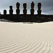 Easter Island 9 Art Print