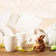 Easter Tea Break Art Print