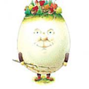 Eastereggs 04 Art Print
