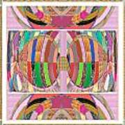 Eastern Cave Style Art Using Crystal Stones Gems N Jewels Use Your Imagination And Enjoy Art Print